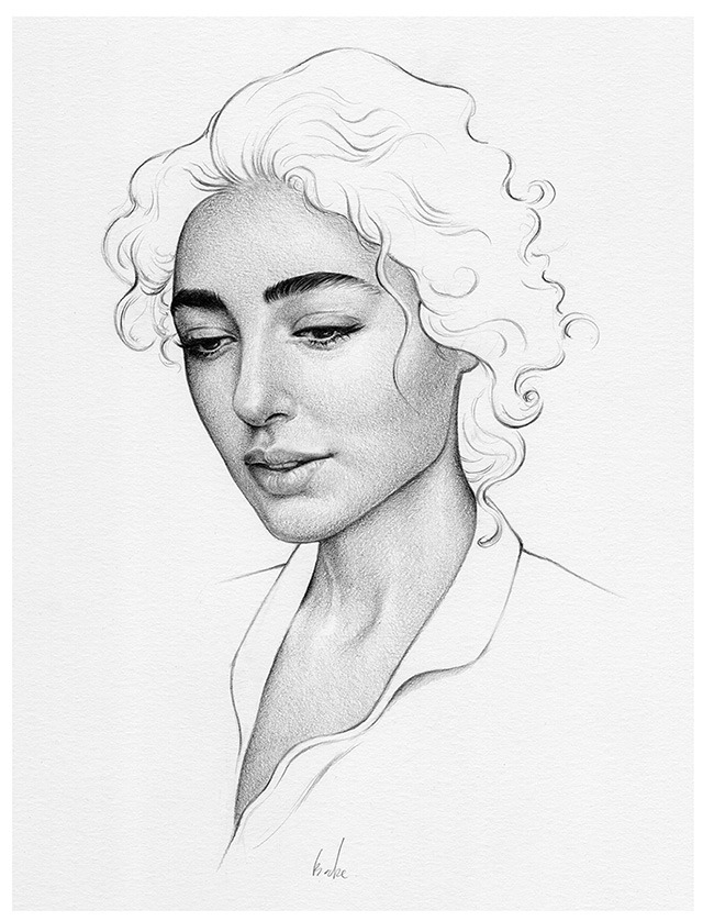 Pencil-Drawings-of-Beautiful-Woman-by-UK-Based-Artist-T.S-Abe-04
