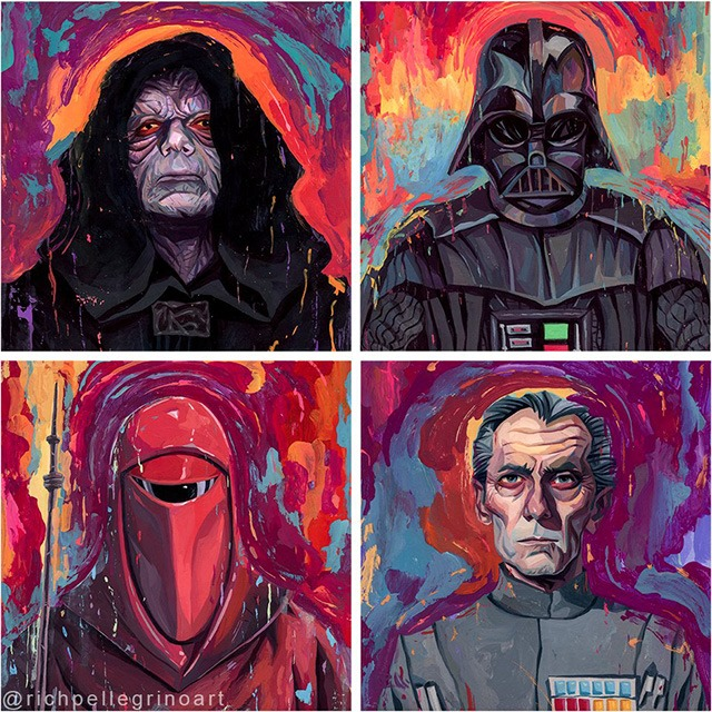 Star-Wars-Darkside-Group-Print-by-Rich-Pellegrino