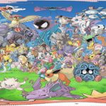 All 150 Original Pokémon in a Single 360 Degree Artwork