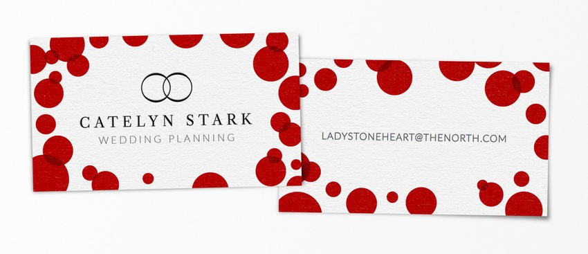 Catelyn Stark pop-culture-business-card-17