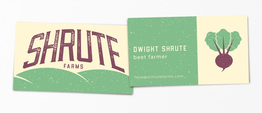 Dwight Schrute pop-culture-business-card-05