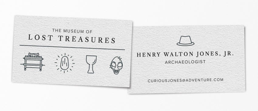 Indiana Jones pop-culture-business-card-16
