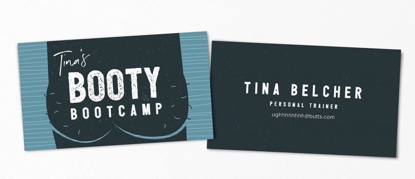 Tina Belcher pop-culture-business-card-08